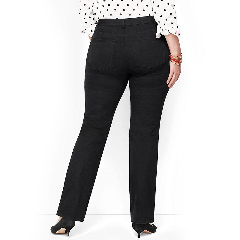 WESTPORT / Женские классические джинсы больших размеров черные