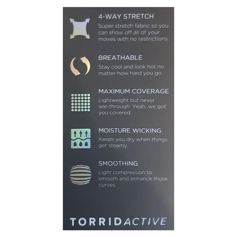 TORRID / Компрессионные легинсы большого размера акварель
