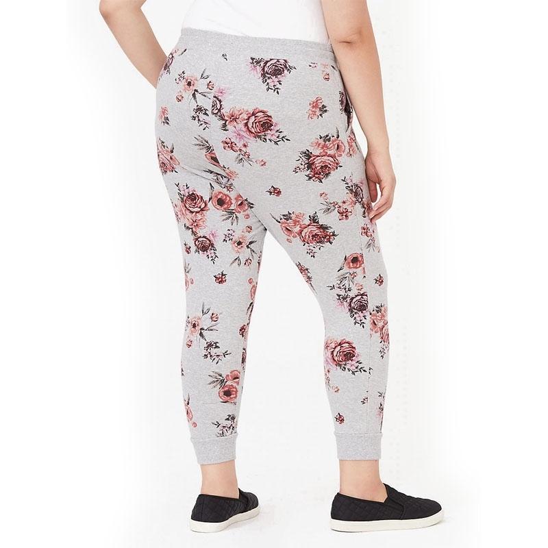 TORRID / Женские спортивные кроп джоггеры plus size с цветочным принтом