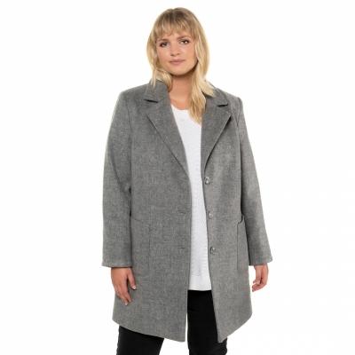 ULLA POPKEN / Демисезонное женское пальто большого размера