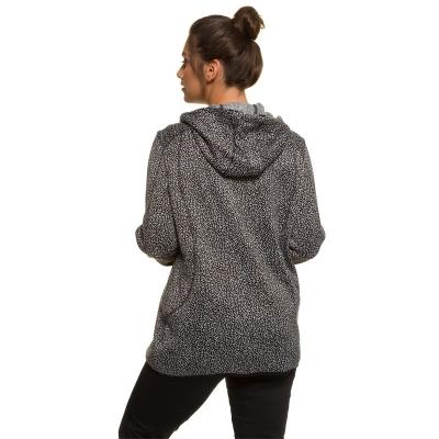 ULLA POPKEN / Утепленная вязаная толстовка для полных женщин