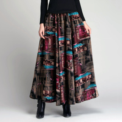 YUBKAVPOL / Длинная юбка EXC GLOW-004