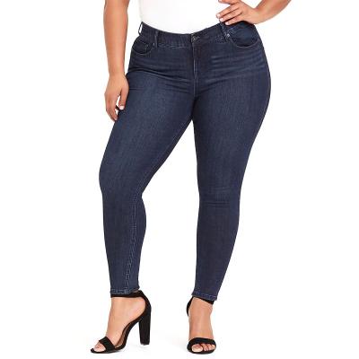 TORRID / Bombshell Skinny / джинсы для полных женщин серо синие
