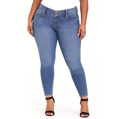 TORRID / коллекция JEGGINGS / женские джинсы большого размера голубые