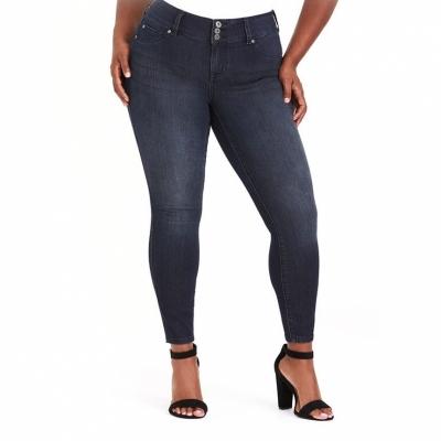 TORRID / коллекция JEGGINGS / джинсы скинни для полных женщин серо синие