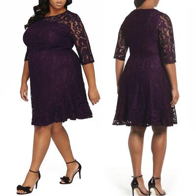 DOROTHY PERKINS / Платье миди большого размера из кружева