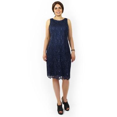Платье миди из кружева