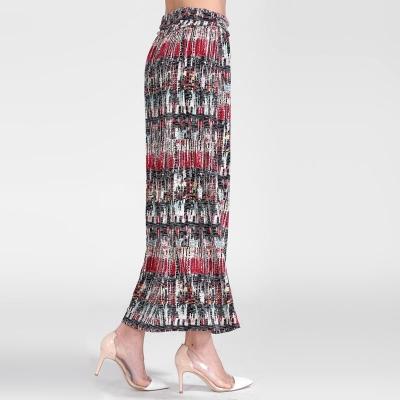 Длинная юбка из вискозы