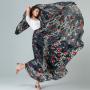 YUBKAVPOL / Длинная шифоновая дизайнерская юбка в пол